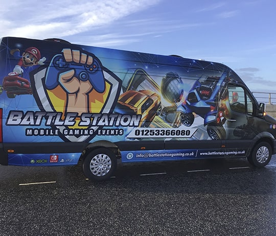Battle Station Gaming - Gaming Party Van Lancashire